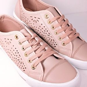 RESTRICTED Low-top Pink Casual Sneakers